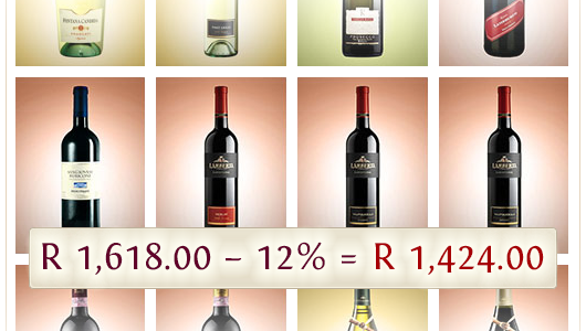 Top 12 Wines for 12% Less